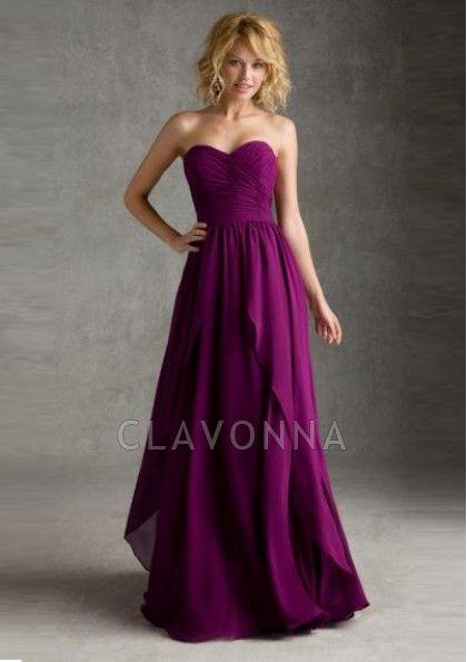 Backless purple Bridesmaid dresses canada - 8q10822 - Bridesmaid Dresses
