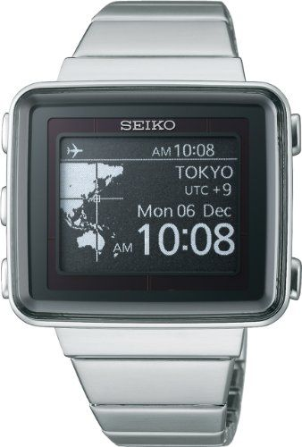SEIKO spirit smart EPD active matrix solar radio fix metal ...