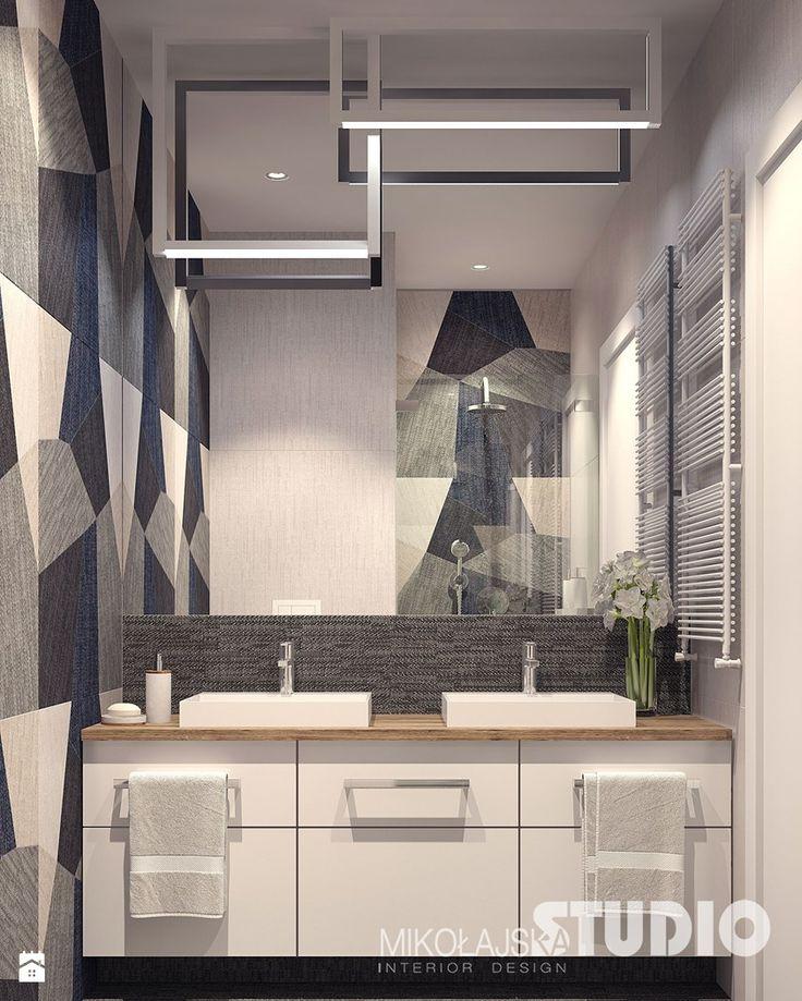 Mała łazienka - zdjęcie od MIKOŁAJSKAstudio - Łazienka - Styl Nowoczesny - MIKOŁAJSKAstudio