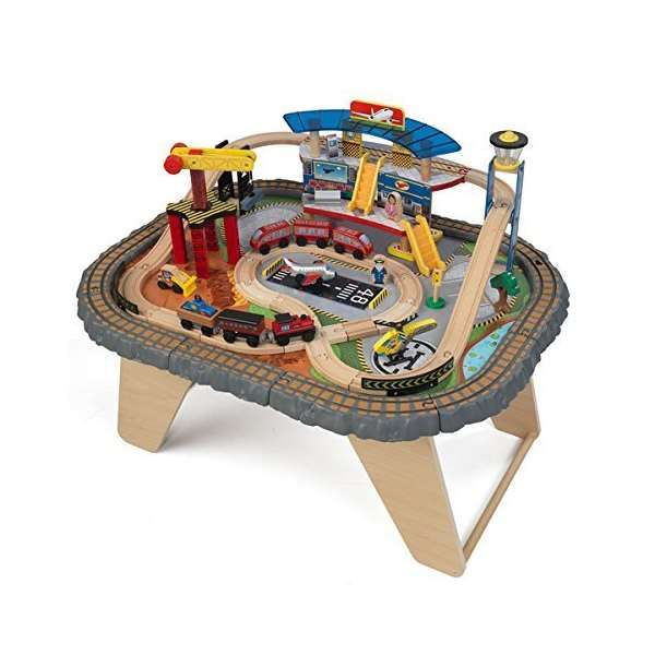 KidKraft Transportation Station Train Set and Table, #KidKraft, #17564