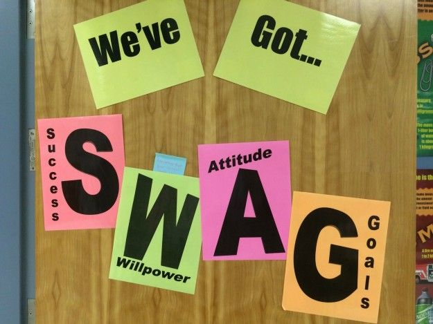 …and learn the true meaning of SWAG. | 22 Reasons Going Back To School Isn't The…