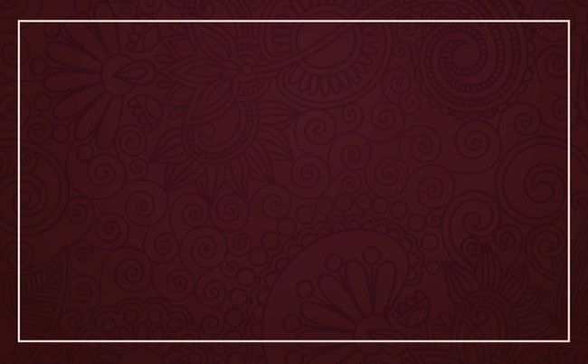 Simple Red Pattern Business Card Background Material Red Pattern