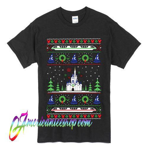 Disney Ugly Christmas T Shirt