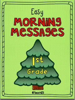 Teach123 - tips for teaching elementary school: Easy Morning Messages. $