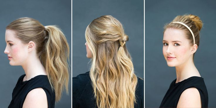 10 Hair Styles You Can Do in Literally 10 Seconds (cute hair, but someone needs to learn the difference between literal and figurative)