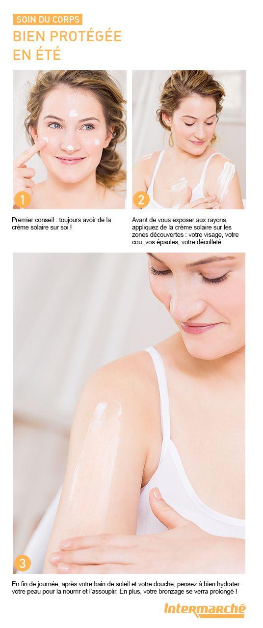 Pour avoir un teint hâlé ou bronzé en été, nous vous donnons tous nos conseils pour bien protéger votre peau. #tutoriel #beauté #maquillage