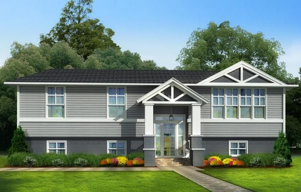 Photoshop Redo Reinventing A Style Misfit Split Level Remodel Exterior Split Level House Exterior Raised Ranch Remodel
