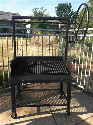 Extreme Duty Argentine Grill Pit 36x24x12 Outdoor