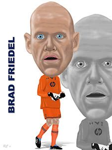 Brad Friedel - At his age he should be strolling round the countryside!!   Still performing at the top level, much admiration!