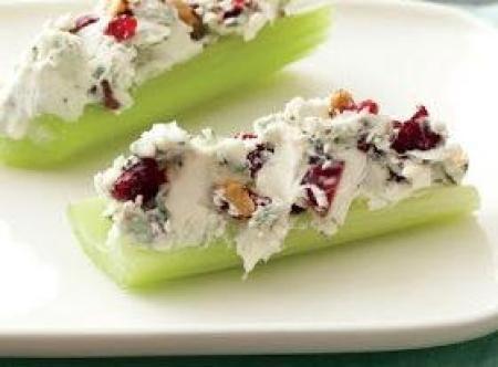 Bacon-Cranberry-Walnut Stuffed Celery Recipe