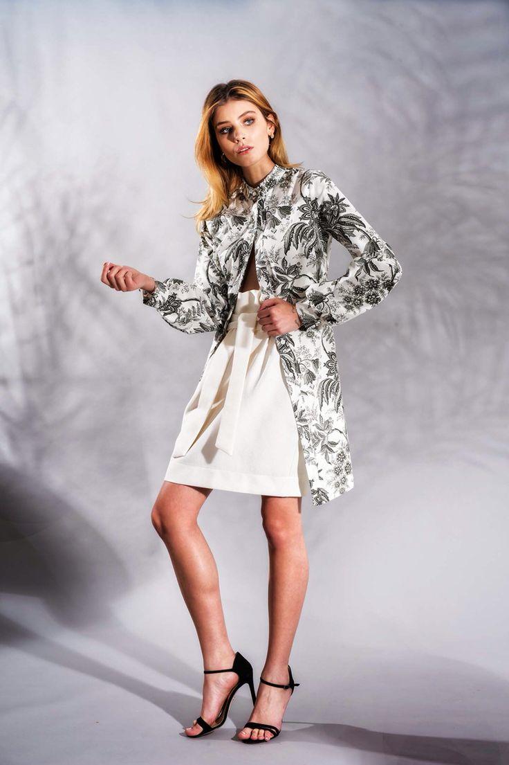 Cotton Shirt Dress www.framboise.ro