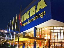 Ikea was founded in Älmhult, Småland, Sweden in 1943.