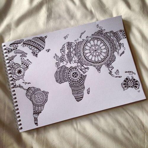 art blackwhite creativity draw drawing fashion inspiration magic - Drawing Design Ideas