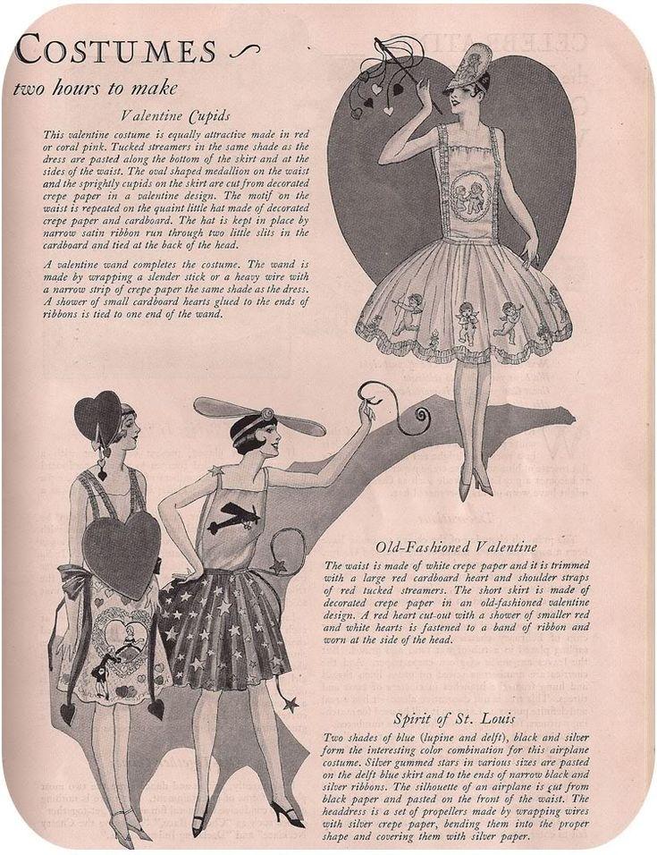 vintage halloween costume pattern