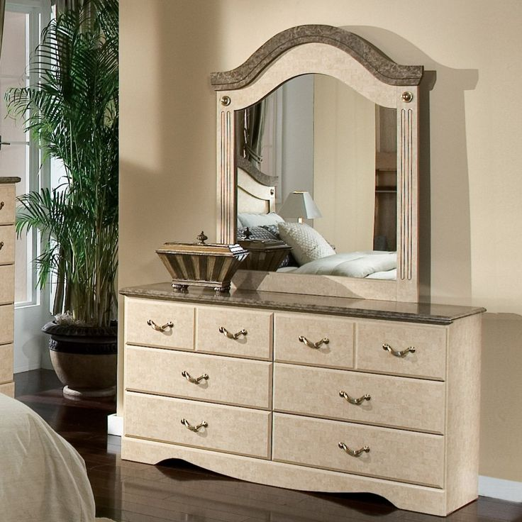 Standard Furniture Florence Dresser with decoration idea