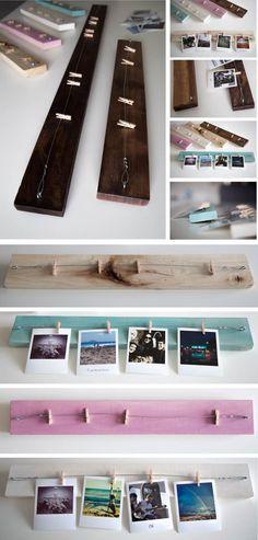 colgador madera fotos dumdum