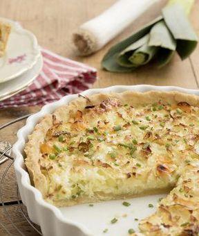 Vegetarische Lauch-Ziegenkäse-Quiche: http://kochen.gofeminin.de/rezepte/rezept_lauch-ziegenkase-quiche_336602.aspx