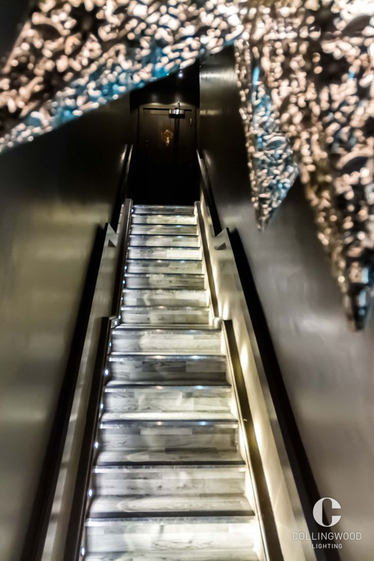 Interior Design Inspiration | Stair Lighting | Created Using The  Collingwood GL019 S Http:/