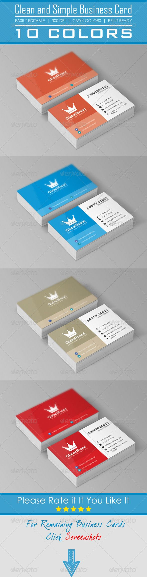 Best 25 standard business card size ideas on pinterest card clean and simple business card photoshop psd metro business cards professional business cards magicingreecefo Images