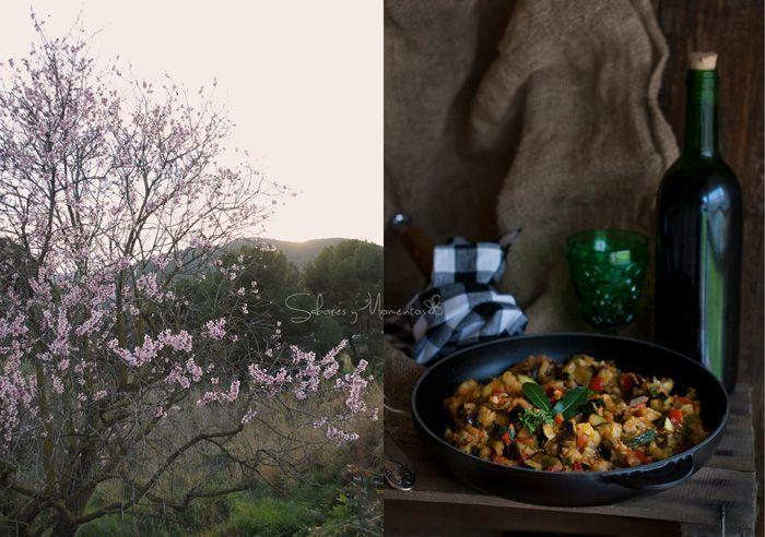 Sabores y Momentos   #pisto a mi manera #ratatouille en la #skillet #lecreuset    http://saboresymomentos.es