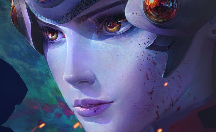 Video Game Overwatch  Widowmaker (Overwatch) Wallpaper