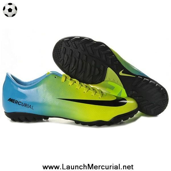 Nike Mercurial Vapor IX TF Astro Turf Electricity Blue Volt Black Nike  Vapor 9 Football Shoes, cheap Nike Mercurial Vapor IX TF, If you want to  look Nike ...