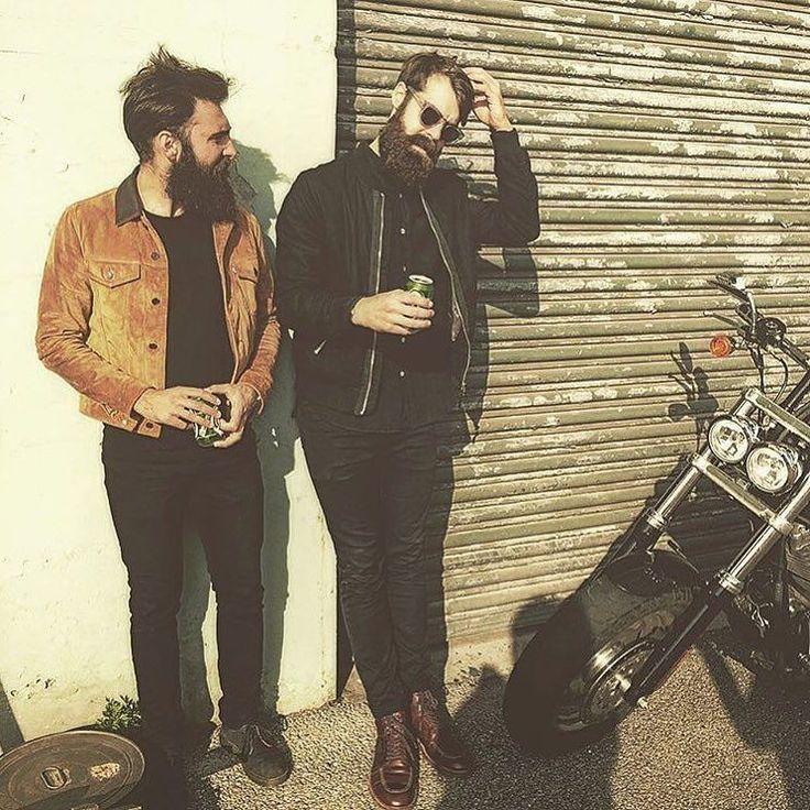 The two perfect gentlemen @viktorserra and @krille_g rocking the Friday vibe like pros!! Cheers beards  . #Theswedishbeardcommunity#beard#bearded#beardlife#beardlove#beardoil#moustache#beardman#mustache#mustachewax#skägg#skäggvård#beardstyle#barber#barberlife#beardedlifestyle#eatclean#beardgrooming#beards by theswedishbeardcommunity