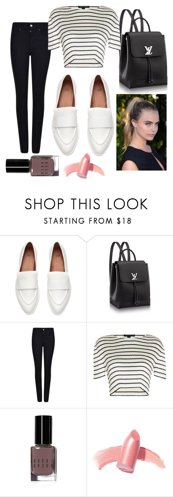 """""""Black and white every thing."""" by jasmine-clarine on Polyvore featuring Armani Jeans, Alexander Wang, Bobbi Brown Cosmetics and Elizabeth Arden"""