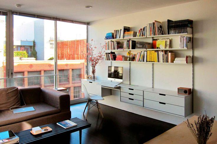 die besten 25 imac schreibtisch ideen auf pinterest. Black Bedroom Furniture Sets. Home Design Ideas