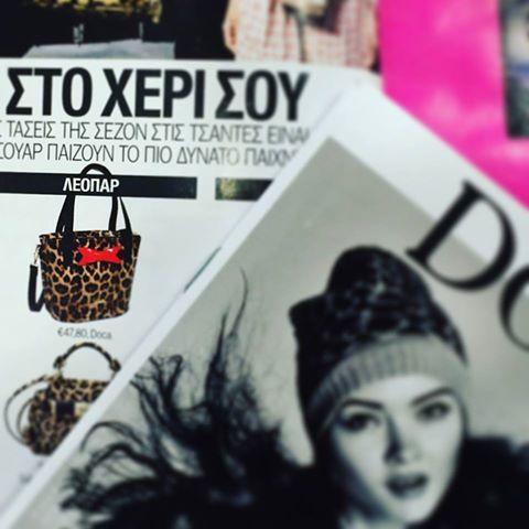 Παντού βρίσκεις μια αγαπημένη #doca τσάντα! Cosmopolitan Greece #docaholic