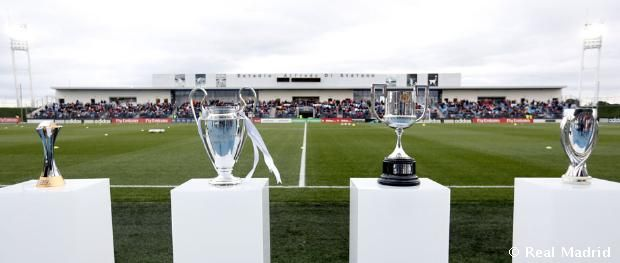 The Four Titles of an Unforgettable 2014, remember guys! The Champions League, The Club World Cup, The European Super Cup, and The Copa del Rey #HalaMadrid