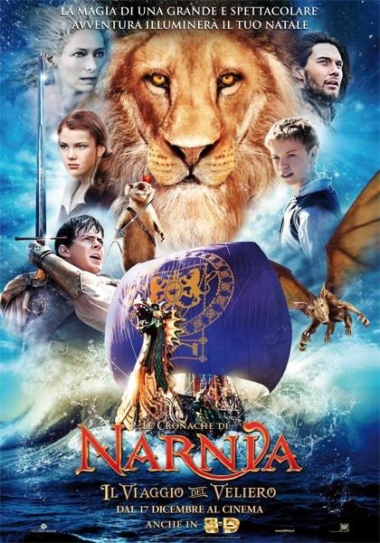 Il viaggio del veliero - 20th Century Fox Home. Un grande viaggio fantasy nel mondo di Narnia, increspando le onde sul Veliero dell'Alba.