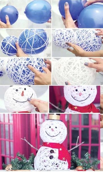 50 Best DIY Snowman Christmas Decoration Ideas I love Pink