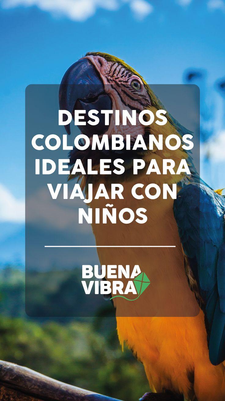 Destinos colombianos ideales para viajar con niños