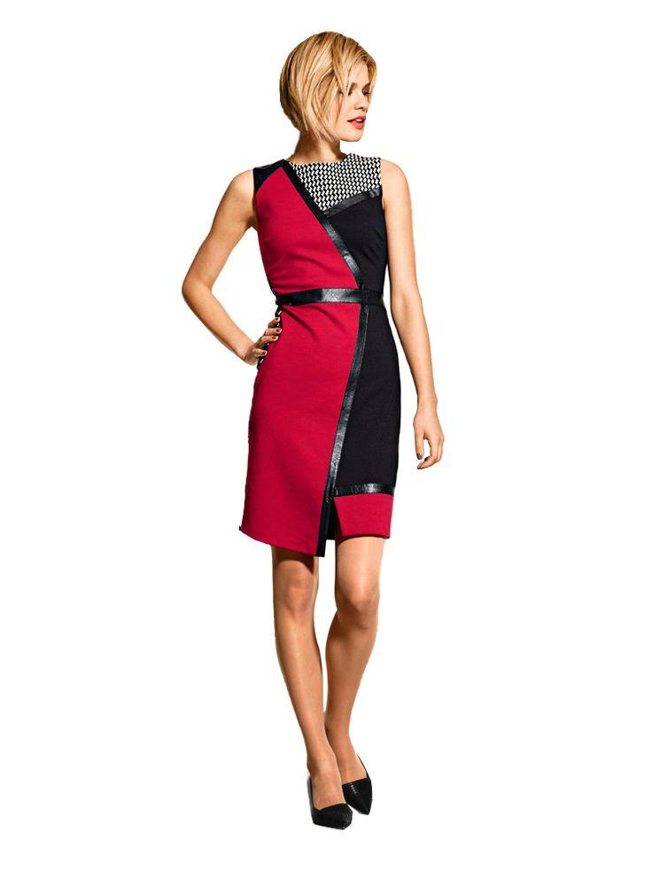 Beautiful asymmetric office dress