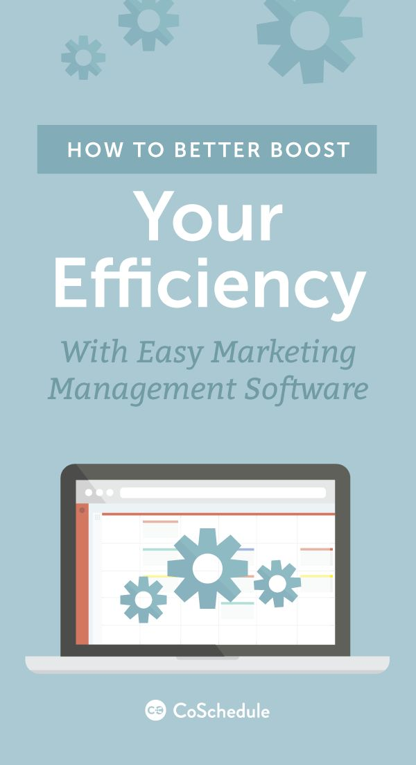 One easy drag-and-drop calendar for everything http://coschedule.com/marketing-management-software?utm_campaign=coschedule&utm_source=pinterest&utm_medium=CoSchedule&utm_content=How%20To%20Better%20Boost%20Your%20Efficiency%20With%20Easy%20Marketing%20Management%20Software