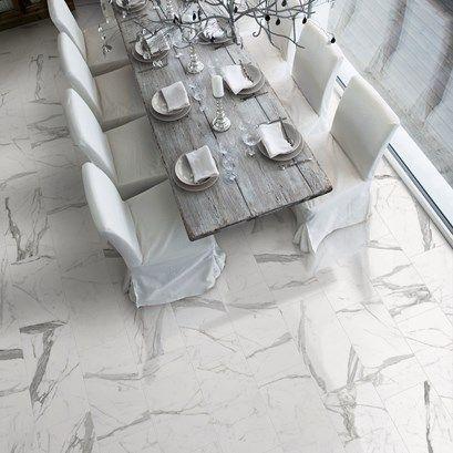 Ge ditt hem en extra lyxig känsla genom att låta klinkern Marmi pryda golvet.