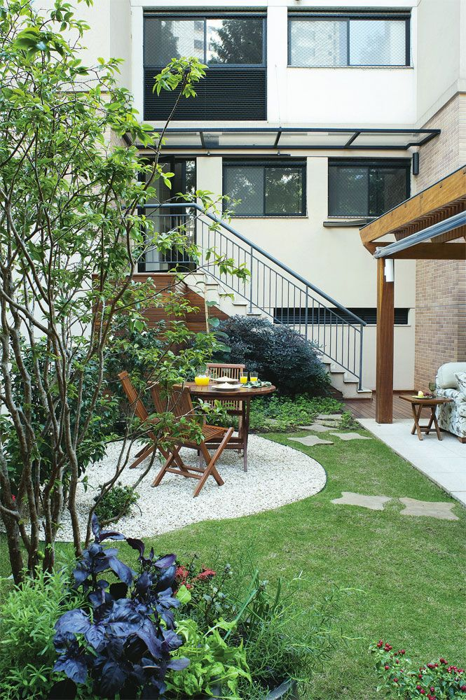 Quintal de apartamento: flores, horta e frut?feras na ...