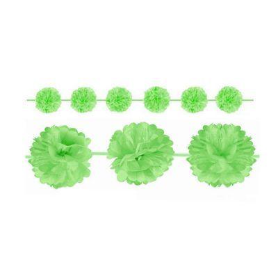 - Yeşil Ponpon Uzar Süs
