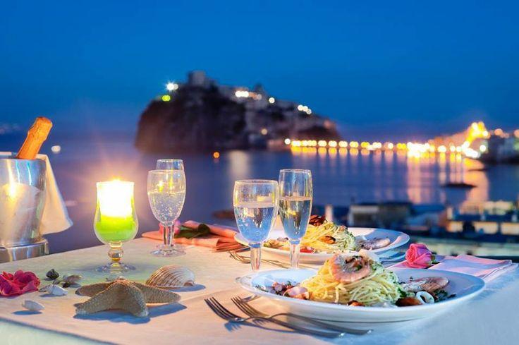 Cena a lume di Candela all'Hotel Ulisse di Ischia