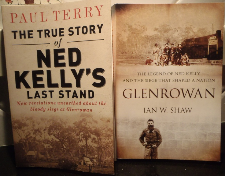 Our family's stories tie closely with the Kellys... Ned Kelly: Glenrowan Siege 1880.