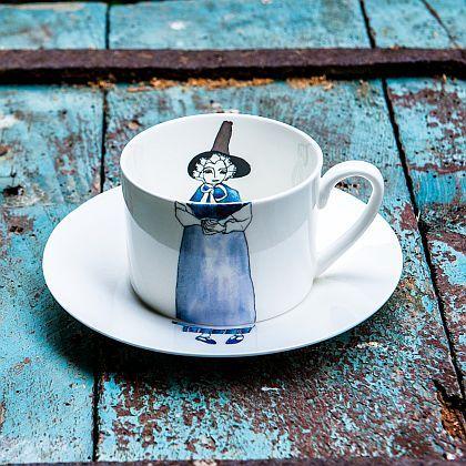Dilys ~ Cup & Saucer Set