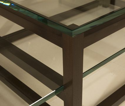 Scaffold Table | Furniture Collection by Maxine Snider Inc. interior design, modern, contemporary, transitional design, furniture, coffee table, sofa table, handmade furniture, wood coffee table, architectural furniture, living room, bedroom, office, study, library, den, cocktail table