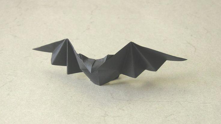 Halloween Origami Instructions: Patty Bat (Talo Kawasaki)