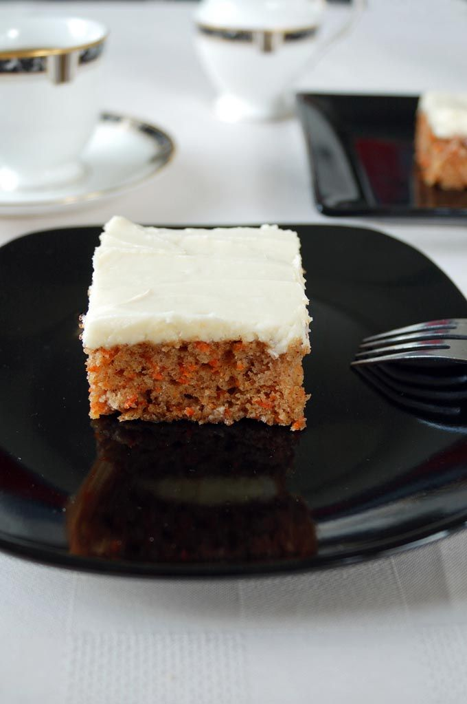 Old Fashion Carrot Cake With Caramel Sauce