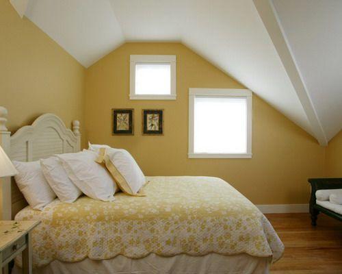 Attic Bedroom in a Waterside Home