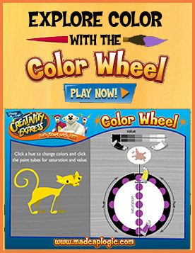 Color Wheel interactive game | Creative thinking skills ...