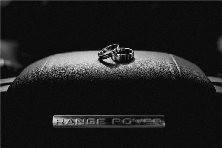 Rustic ring shot photography range rover car white gold couples bands wedding #ido #gettingmarried  #wedding #bride #grom #enlopement #engaged #weddingplanner #justmarried | Nika and Grega destination wedding photographers