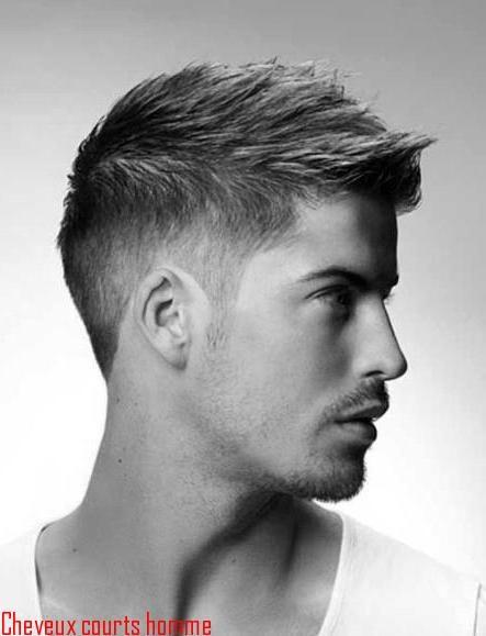 Coupes de cheveux courts pour homme