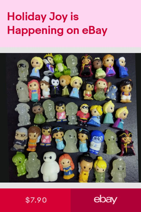 Random 10pcs Pencil Toppers Figure Toy Doll Ooshies DC Comics//Marvel Collection